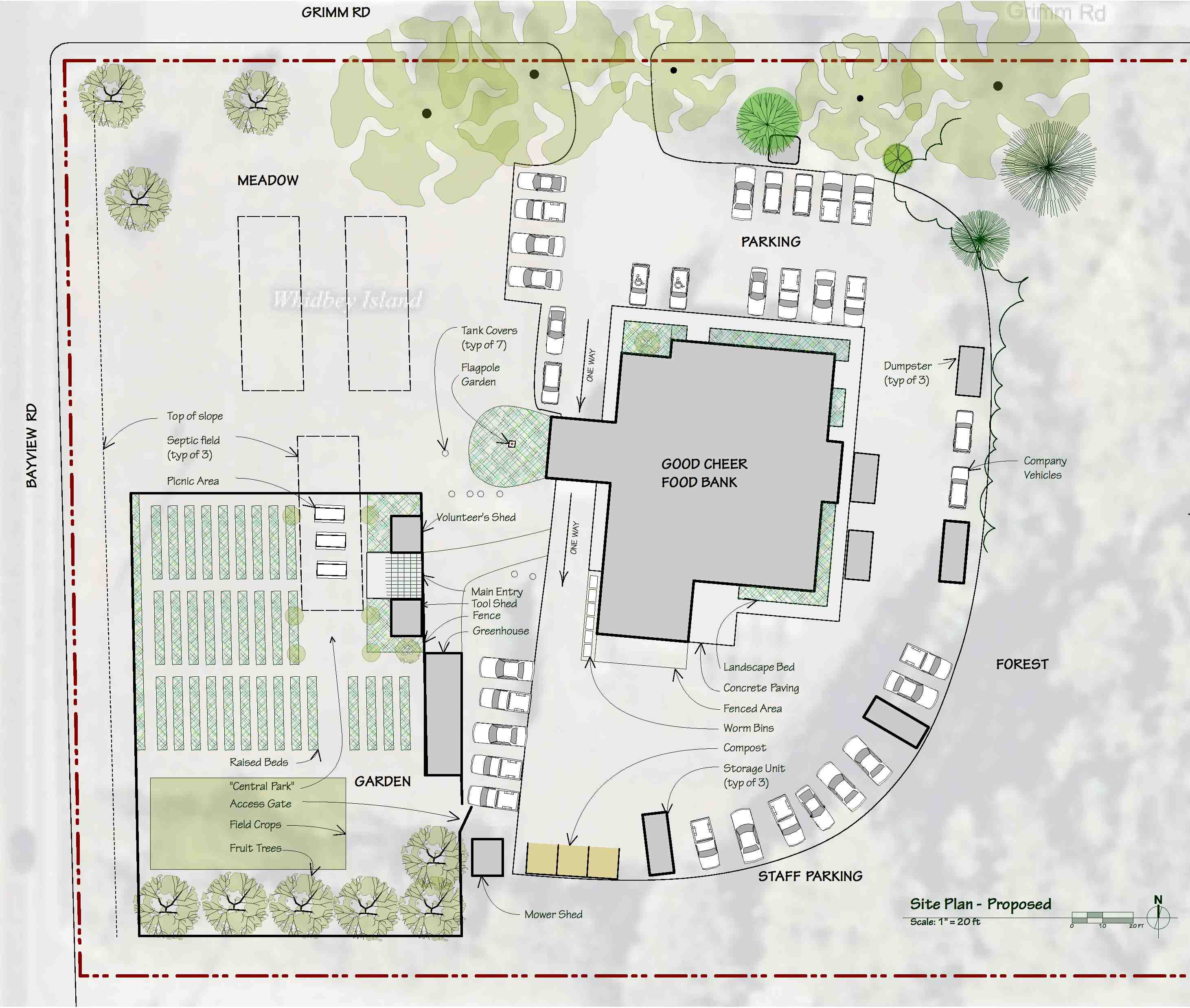 Good Cheer Garden | TAPROOT ARCHITECTS