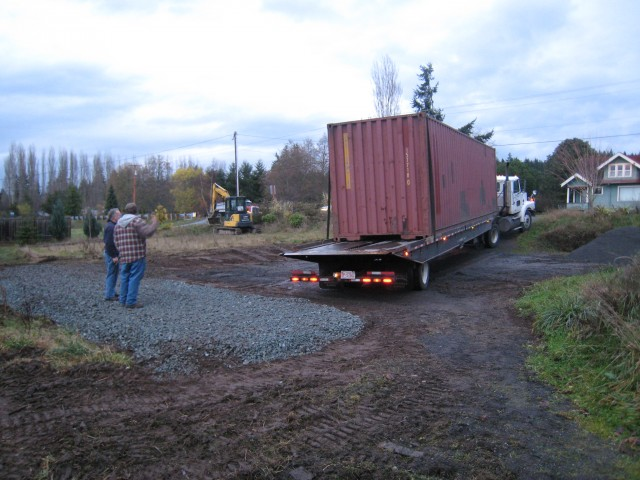 Cargo Container Delivery