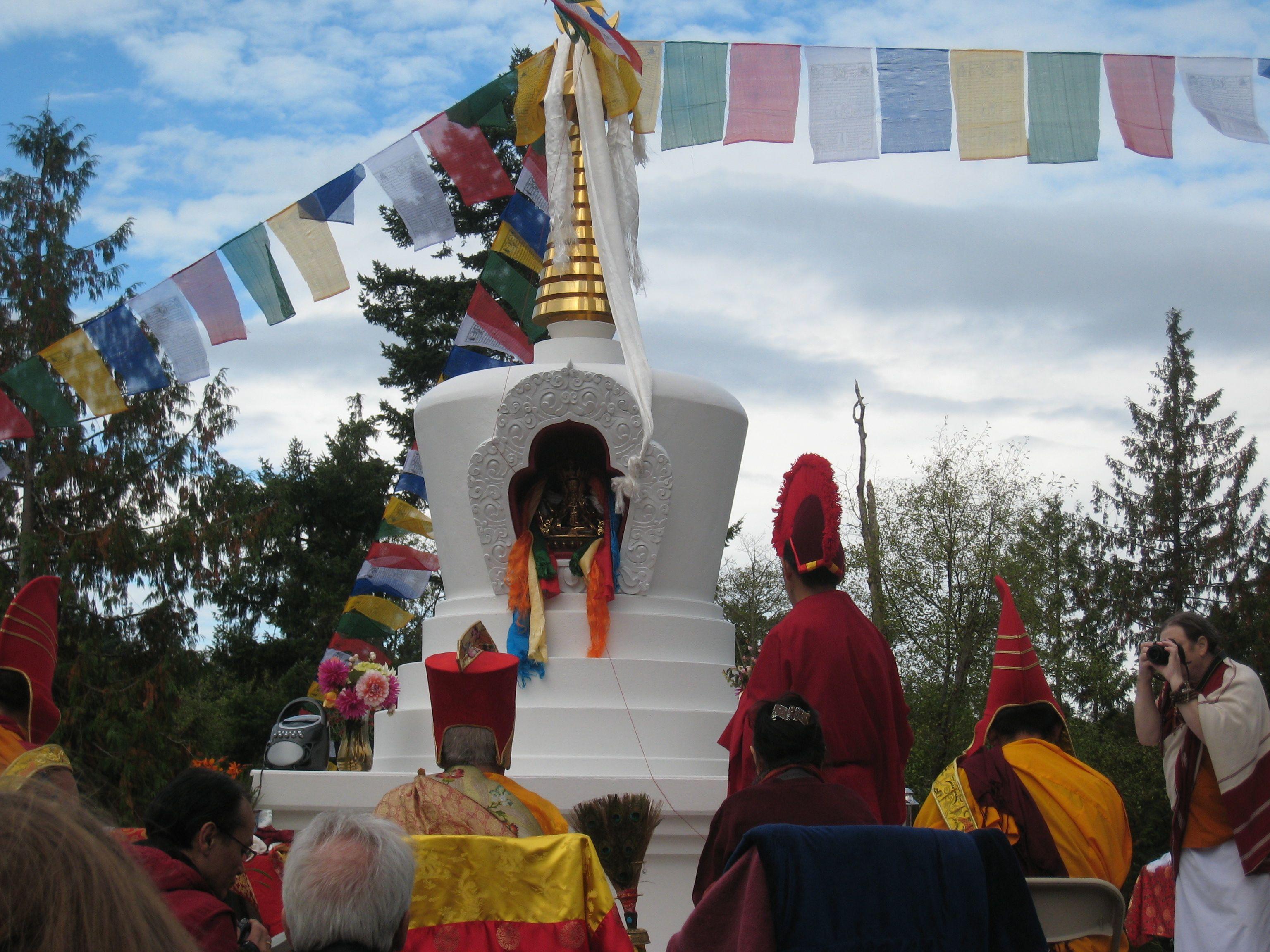 Tibetan Buddhist Stupa | TAPROOT ARCHITECTS