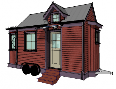 Tiny House Perspective